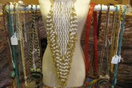 Gold and White Flapper