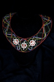 Multi Colored Bib necklace